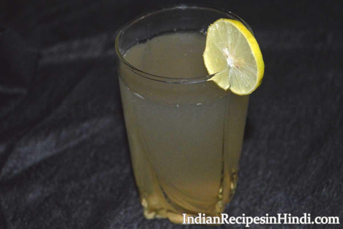 nimbu pani recipe, how to make nimbu paani, निम्बू पानी बनाने की विधि
