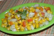 sweet corn salad, स्वीट कॉर्न सलाद, Sweet corn salad in hindi