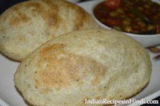 bhature image, bhatura, भटूरा बनाने की विधि, भटूरे की रेसिपी