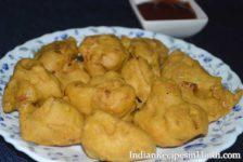 gobi pakora recipe image, गोभी के पकोड़े, gobhi pakoda