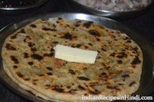 onion paratha, pyaz ka paratha, प्याज का पराठा