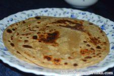 plain paratha image, sada paratha, सादा पराठा