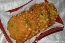 aloo sabudana tikki, आलू साबूदाना टिक्की, sabudana tikki recipe in hindi