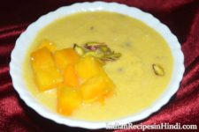 mango kheer, aam ki kheer, आम की खीर