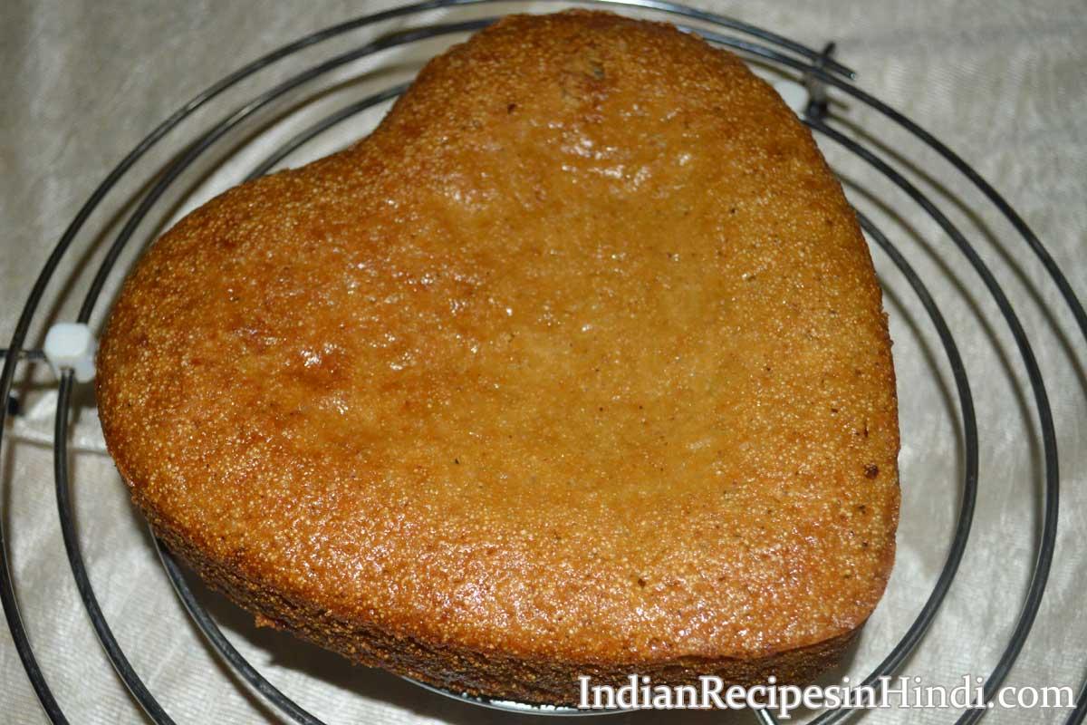 Cake Ki Recipe Kadai Mein: Sooji Cake Recipe In Microwave - सूजी केक रेसिपी