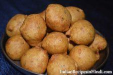 besan ke pakore, बेसन के सादे पकोड़े बनाने की विधि, plain besan pkaora in Hindi