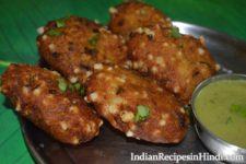 sabudana-aur shakarkandi ke kebab image, sweet potato kebab in Hindi, शकरकंदी और साबूदाना के कबाब