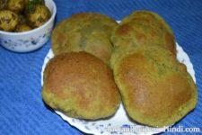 methi ki puri, fenugreek puri, Methi Puri Recipe - मेथी की पूरी बनाने की विधि, methi puri in Hindi