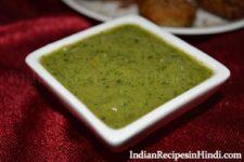 dhaniya vrat chutney, हरा धनिया की चटनी, Fast Chutney in Hindi Photo, Chutney image